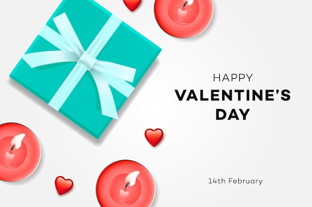 Happy valentines day sale gift box