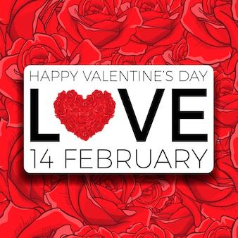 Happy valentines day and weeding design elements
