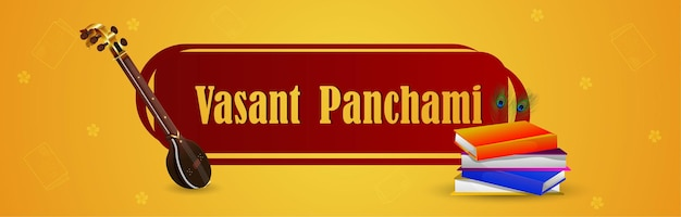 Happy vasant panchami header