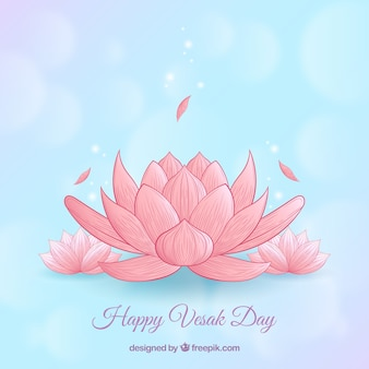 Happy vesak day background
