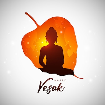 Happy vesak day greeting