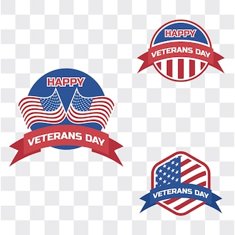 Happy veteran's day for american veteran