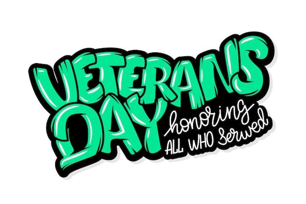 С днем ветеранов рука надписи. каллиграфия ручной работы