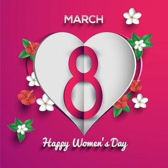 Happy woman's day 8 march