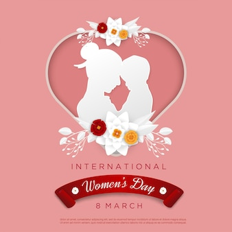 Happy woman's day with love