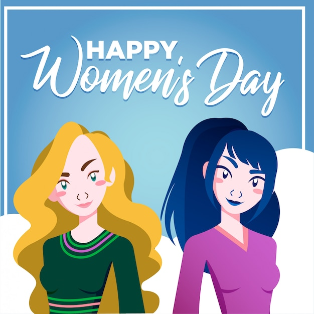 Happy women day friends