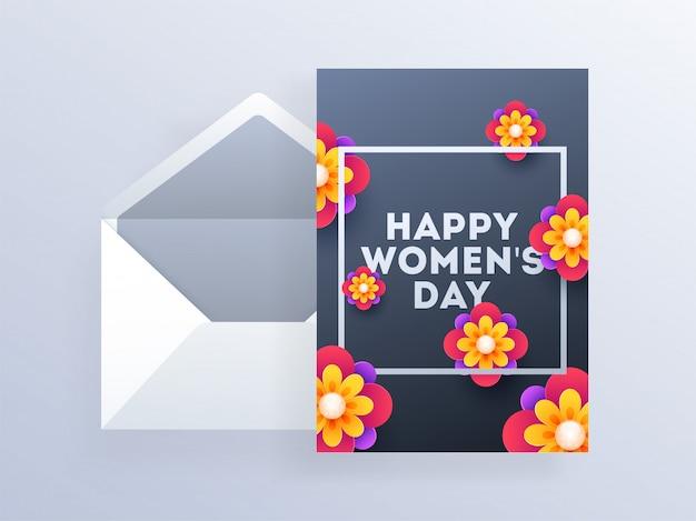 Happy women's day background.