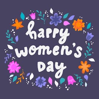 Happy women's day frame