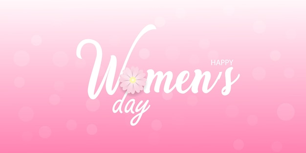 행복한 여성의 날 인사말 카드