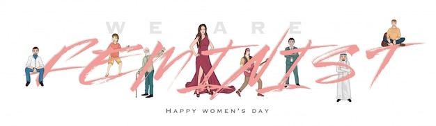 Happy women's day header