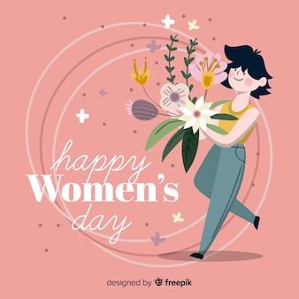 여성의 날을 축하 해요