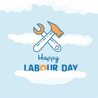 Дизайн рабочего дня happy work