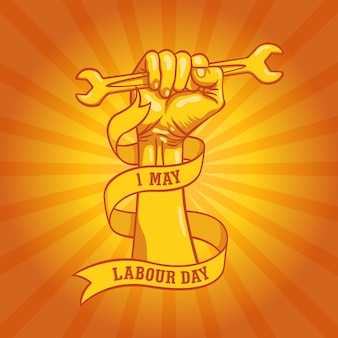 Happy world labour day in 1st may