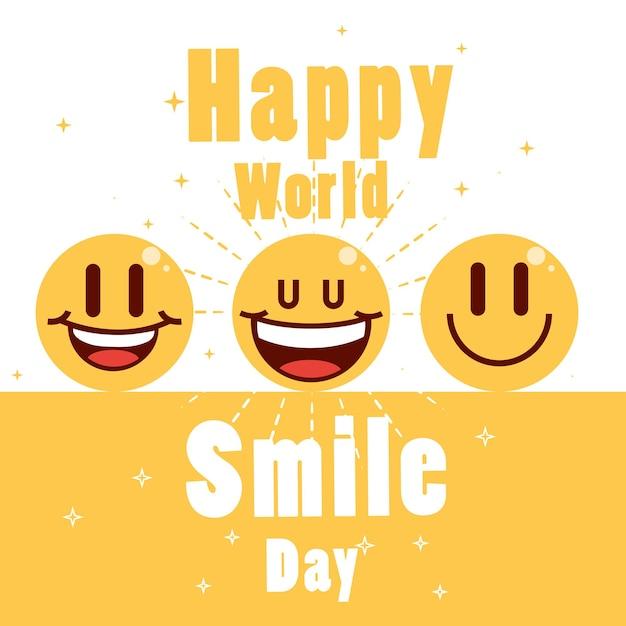 幸せな世界の笑顔の日