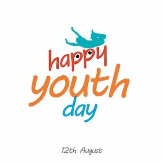 Giorno felice gioventù persone che godono