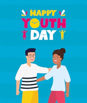 Happy youth day