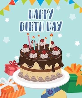 Happybirth day cake