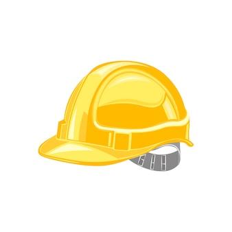 Каска, здание защитного шлема, под вектор конструкции