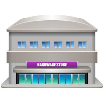 Hardware store facade