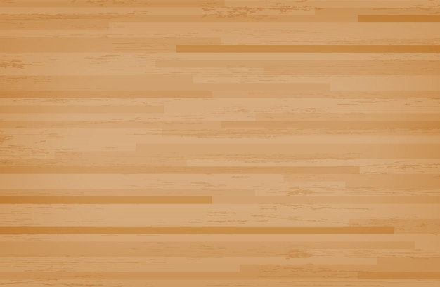 Hardwood maple basketball court floor.