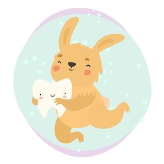 토끼와 건강한 치아