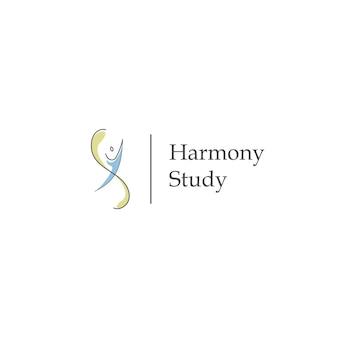 Harmony study logo modern
