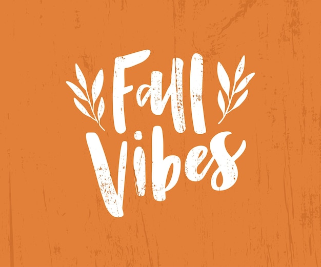 Harvest poster design. fall vibes hand drawn lettering