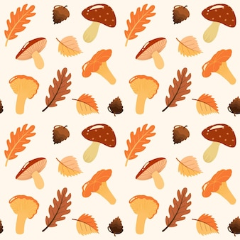 Harvest product seamless pattern. vector background with vegetables