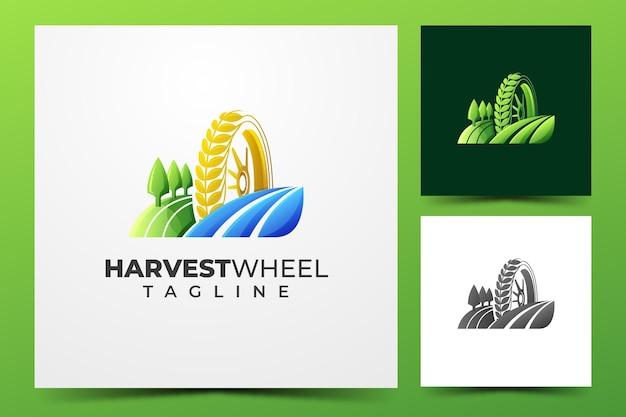 収穫ホイールのロゴ