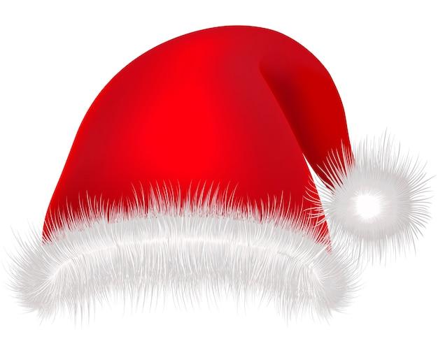 帽子サンタクロース。