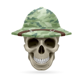 Hat skull