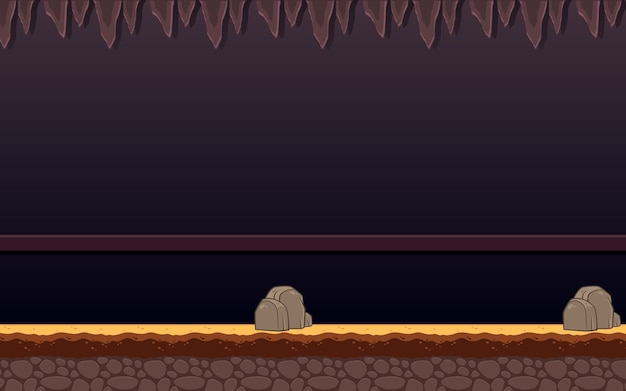 Haunted dungeon game background