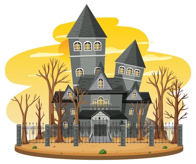 Дом с привидениями в дневное время