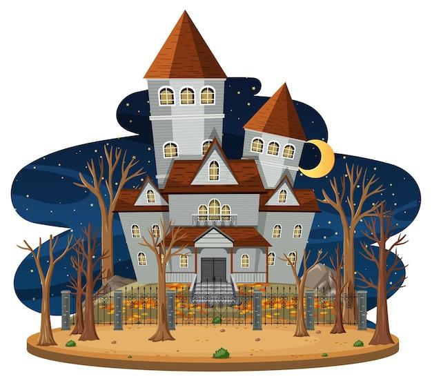 夜景のお化け屋敷