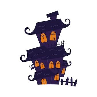할로윈 파티를 위한 유령의 집