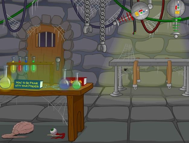 Haunted lab