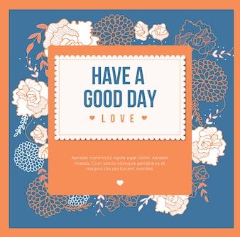 좋은 하루 되세요, 카드