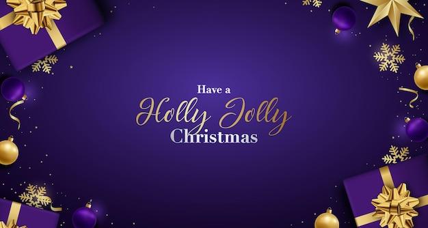 ホリージョリークリスマスを