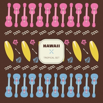 Hawai tropical set elements