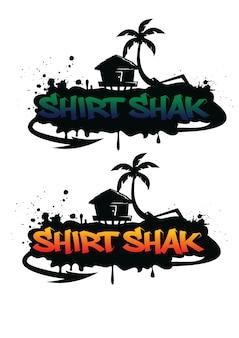 Логотип гавайских граффити