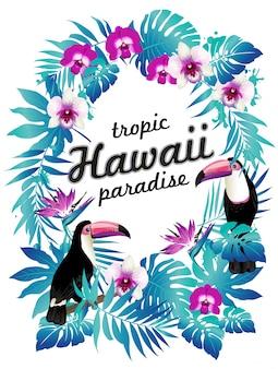 Гавайский плакат