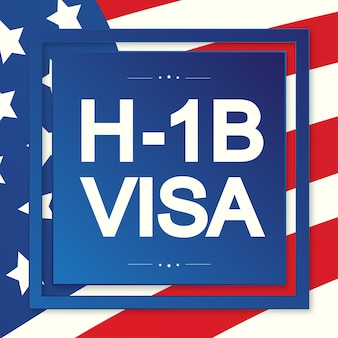Hb visa usa page for the class r visa type hb temporary work for workers illustration vector  eps