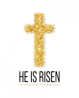 He is risen. easter