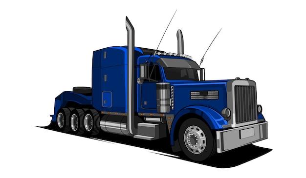 Head semi truck