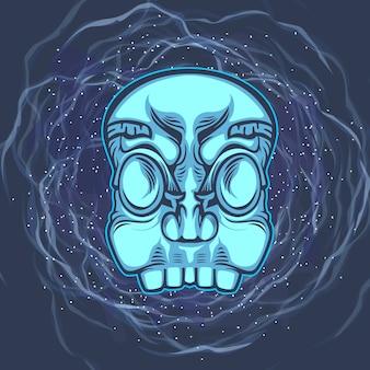 Head skull mask