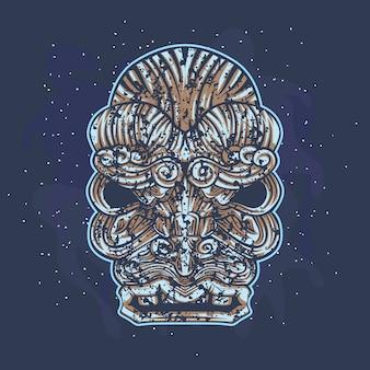 Head stone creature