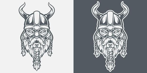 Head of viking