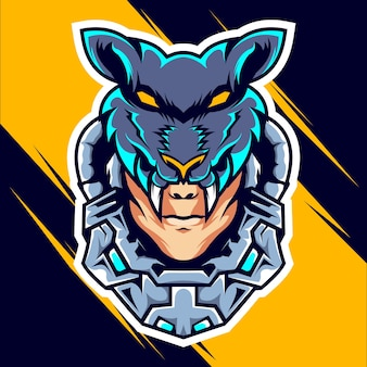 Head wolf man esports