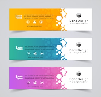 Header Banner design Vector Background for cover page website.