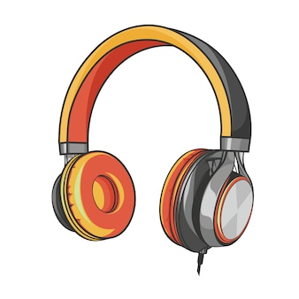 Headphone music and sound ear phone